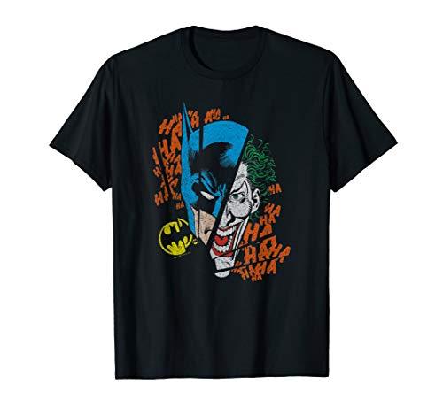 Batman Joker Broken Visage T Shirt