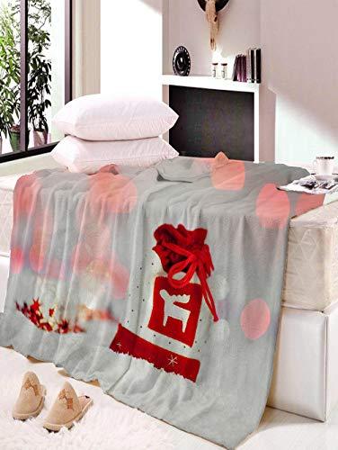 Manta, Batamanta, Fondo Navideño, Manta Navideña, Decoración De La Sala De Estar del Dormitorio Familiar, Cálida Y Suave W150×L200CM