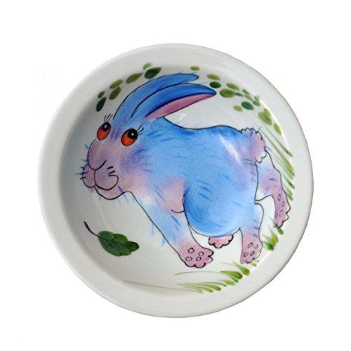 Helina Tilk Forêt Lapin Bol 19 cm Porcelaine Peint à la main