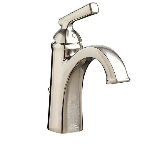 American Standard 7018101.295 Edgemere Single-Hole Bathroom Faucet, Brushed Nickel