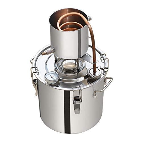 LSGMC Wasserbrenner Innenreinigerfilter Aus Edelstahl, 12 L Wasser Destilliergerät.