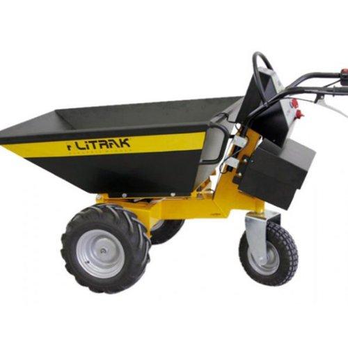 Alitrak Brouette à moteur electrique 500-2 batteries - 500kg