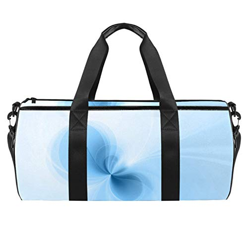 KAIXINJIUHAO 18' Duffle Bag for Travel Gym Sports Lightweight Luggage Duffel ,Light Blue