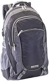 DISOK Mochila ORIZONS® Montaña Senderismo Trekking Camping Viaje Barata 50 L - Impermeable, Hombres y Mujeres (Negro)