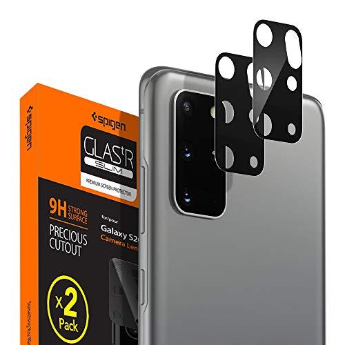 Spigen Glas tR Optik Cámara Lente Protector para Samsung Galaxy S20 Plus - 2 Unidades