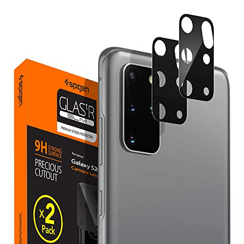 Spigen Camera Lens Screen Protector [2 Pack] Designed for Galaxy S20 Plus