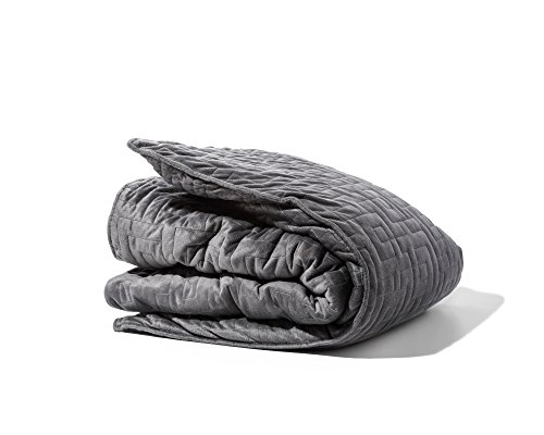 GRAVITY Blanket Duvet Cover, Works with All Blankets, The Original Weighted Blanket, 48 Inches x 72 Inches, 1 CT, Grey