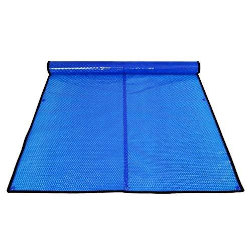 Erru Cubierta para Piscina Azul Manta Solar Térmica con Ojales, 400um Cubierta...