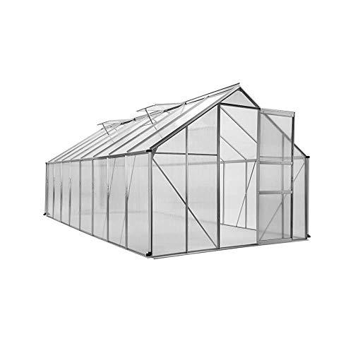 Serre de Jardin Polycarbonate et Aluminium 12m2