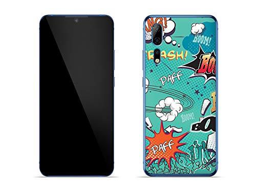 etuo Hülle für ZTE Axon 10 Pro 5G - Hülle Fantastic Hülle - Crash Handyhülle Schutzhülle Etui Hülle Cover Tasche für Handy