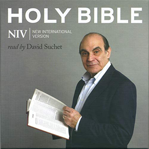 David Suchet Audio Bible - New International Version, NIV: New Testament                   By:                                                                                                                                 New International Version                               Narrated by:                                                                                                                                 David Suchet                      Length: 19 hrs and 53 mins     141 ratings     Overall 4.7
