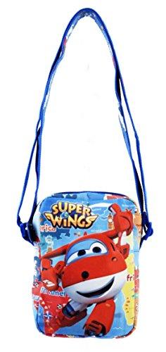 Super Wings Jett Borsa Sportiva per Bambini, 18 cm, Multicolore