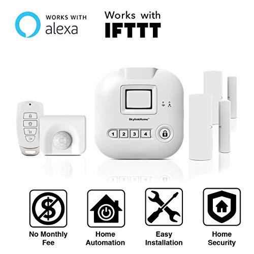 SK-200 SkylinkNet Connected Wireless Alarm System, Security & Home...