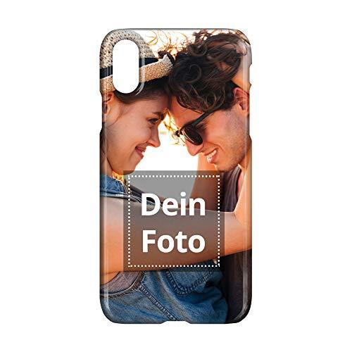 PhotoFancy Handyhülle iPhone® XS mit eigenem Foto Bedrucken (Premium Hardcase R&um-Druck)