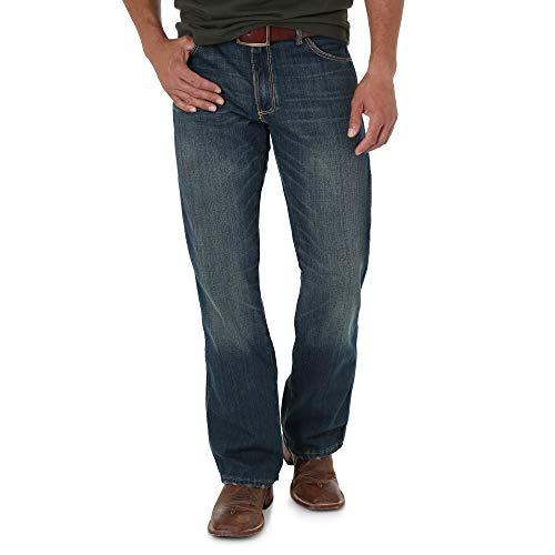 Wrangler Herren Retro Slim Fit Boot Cut Jeans - Blau - 35W / 32L