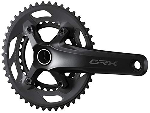 SHIMANO(シマノ) GRX クランクセット FC-RX600-2 46×30T 10段用 165mm(EFCRX600102AX60)