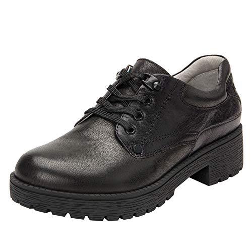 Alegria Cheryl Womens Hiker Fashion Shoe Black 8 M US