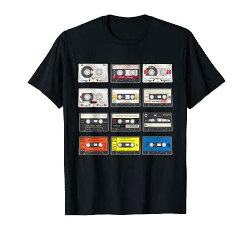 80s Mixtapes Audio Cassettes T-shirt