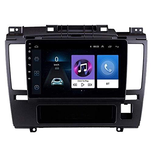 ZHANGYY Reproductor Multimedia Touch Sn de 9 Pulgadas, estéreo para automóvil Compatible con Nissan Tiida 2005-2010, Bluetooth/GPS/FM/Doble USB/Mirror Link/cámara de visión Trasera/contr