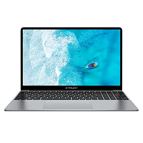 """TECLAST 15.6"""" Windows 10 Laptop Computer, 8GB+256GB SSD, Up to 2.6GHz Quad Core Intel N4120 Windows Laptop, 1920x1080 Traditional Laptop 2.4G+5G WiFi, Bluetooth Mini-HDMI for Work and Entertainment"""