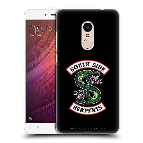 Head Case Designs Licenciado Oficialmente Riverdale Serpientes del Lado Sur Arte Gráfico Carcasa rígida Compatible con Xiaomi Redmi Note 4