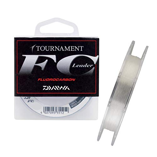Daiwa Tournament FC 0.35mm 50m Fluorocarbon Schnur transparent