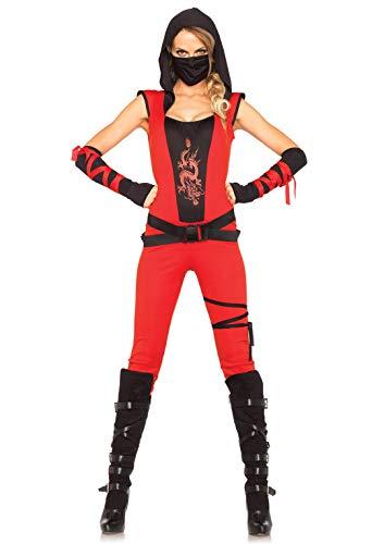 Leg Avenue 85384 - Disfraz de Mujer Ninja Assassin