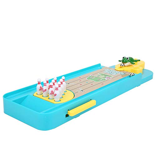 Brinquedo educativo, Mini Bowling Playset Mini Bowling Toy, para crianças, bebê(Fun Frog Bowling)