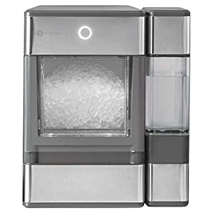GE Profile Opal   Countertop Nugget Ice Maker with Side Tank   Portable Ice...