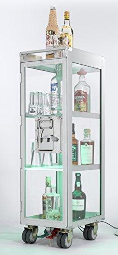 Skypak Verre Acrylique flugzeugtrolley INCL. Éclairage à LED