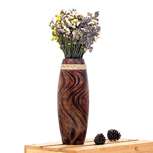 Unbreakable Wooden Flower Vase For Cat Owners