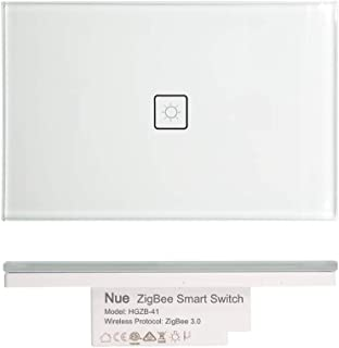 Nue ZigBee Smart Light Switch, Dimmer, Fan Switch, Curtain Blind Switch Power Point GPO, Light Controller and in_Ceiling D...