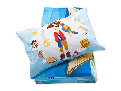 Pepi Leti 685843715283 Pirat Parure de lit pour enfant Multicolore