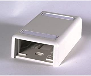 OR-404S21X1U - Ortronics Plastic Surface Mount Box for 2 Series II Modules