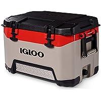 Igloo BMX 52 Qt Cooler with Cool Riser Technology (Red)