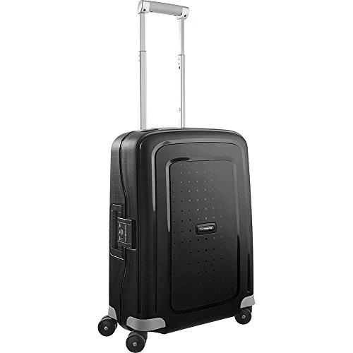 Samsonite S'Cure Hardside Luggage, Black, Carry-On