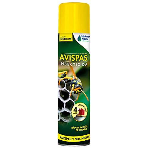 TODOPETS Avispas Insecticida 750 ml. Aerosol insecticida de acción rápida y eficaz Frente a Avispas y Sus nidos.
