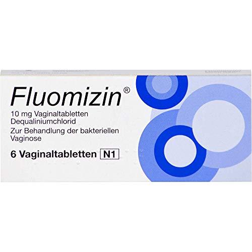 Fluomizin Vaginaltablettten bei bakterieller Vaginose, 6 St. Tabletten