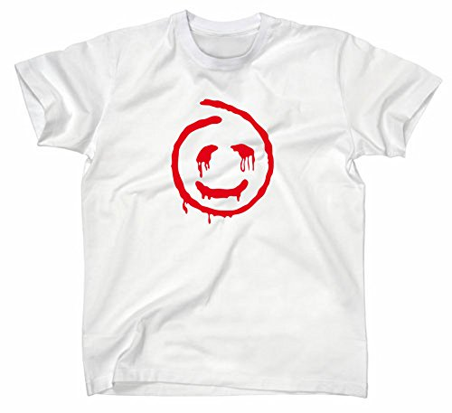 The Mentalist Fanshirt T-Shirt, Red John, TV Serie, Weiss, L