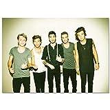 LDTSWES® Rompecabezas One Direction British Band Puzzle, 1000 Piezas DIY Rompecabezas de Madera, para Adultos Niños Juego Rompecabezas Personalizado Sin Marco
