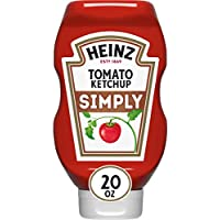 12-Pack Heinz Simply Tomato Ketchup ,1.24 Pound