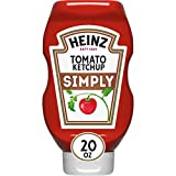 Heinz Simply Tomato Ketchup ,1.24 Pound (Pack of 12)