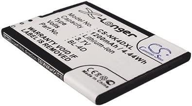 GAXI Battery Replacement for Nokia E5 Compatible with Nokia E5-00, E7, E7-00, N8, Mobile Smartphone Battery