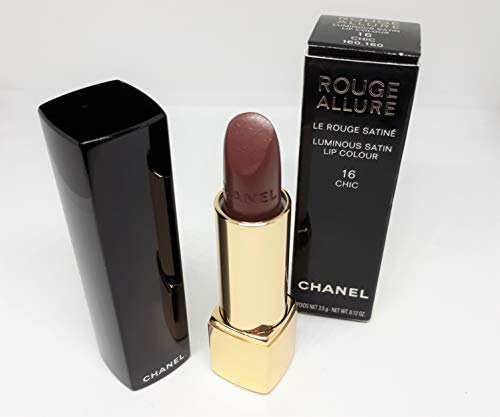 CHANEL Rouge allure lumino ci satin lip Colour - 3.5 g, No. 16 chic