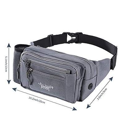 FTMMM Fanny Pack Running Waist Pack Bag for Men...
