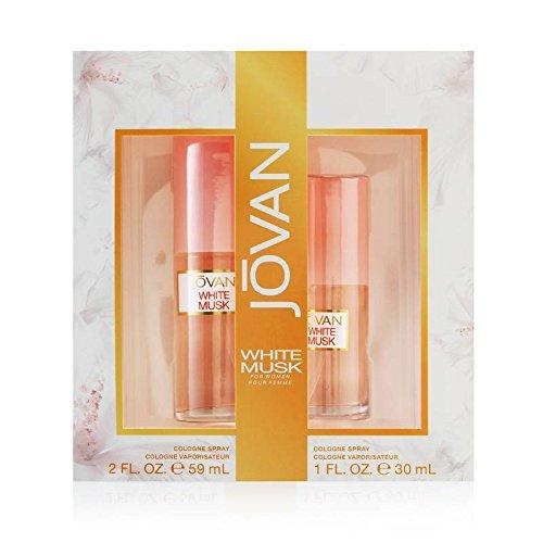 Jovan White Musk Perfume Set for Women by Jovan