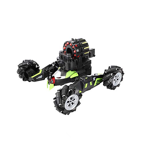 Interesante Control remoto de juguete de coche Gesto infantil Control remoto de inducción coche de gran tamaño de cuatro ruedas de cuatro ruedas Coche de juguete 5-6-8 años (sin batería) Interacción f