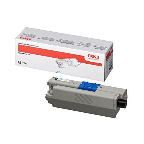 OKI 44469804 C510, C530, MC561 Tonerkartusche Standardkapazität 5.000 Seiten 1er-Pack, schwarz
