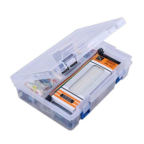 Isuper Kit de Inicio para Arduino proyectos, Incluyendo Cortar el Pan Holder, LCD 1602, Servo, Sensores y detallados tutoriales MA05 Housware