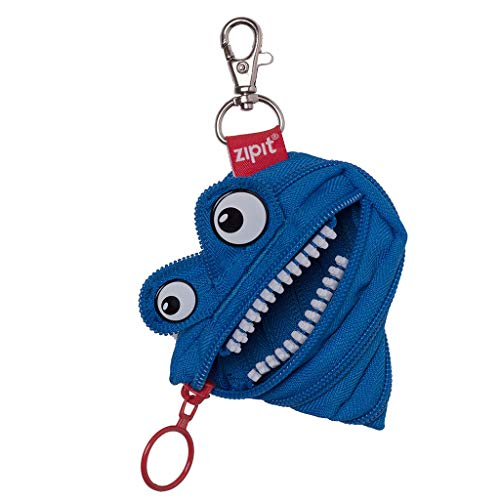 ZIPIT Monster Mini Pouch/Coin Purse, Royal Blue